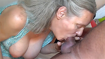 72 year old granny fucked unconnected with cur�