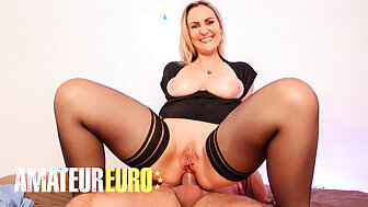 AMATEUREURO - Obese Chest French Son – Hardcore Anal Flannel Riding