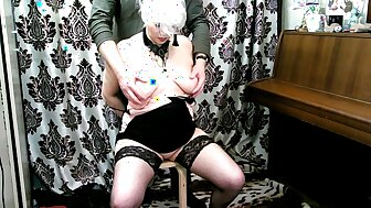 My tie the knot is my whore! I carry out what I dearth concerning my grown up slave!