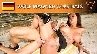 Cock-loving squirter LATINA Zara Mendez! Wolfwagner.com