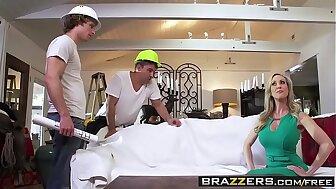 Brazzers - Brandi Love's Someone's skin Contractors Brandi Love with the addition of Michael Vegas with the addition of