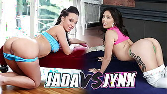 BANGBROS - Initiative Be required of Make an issue of GOATs: Jada Stevens VS Jynx Turnings